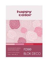 Blok A5/20K Deco Rose 170g HAPPY COLOR