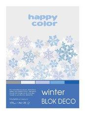Blok A5/20K Deco Winter 170g HAPPY COLOR