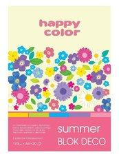 Blok A5/20K Deco Summer 170g HAPPY COLOR