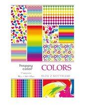 Blok A4/10 z motywami Colors 80g HAPPY COLOR