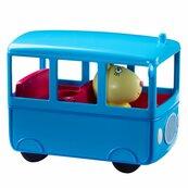 Peppa Pig - Autobus szkolny z figurką Pani Królik