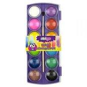 Farby akwarelowe 12 kolorów + pędzel STRIGO