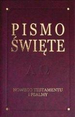 Pismo Święte NT i psalmy- De Luxe, bordo