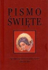 Pismo Święte NT i psalmy - bordo, złocony