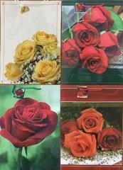 Torebka ozdobna laminowana PL-9 zestaw 35 róże