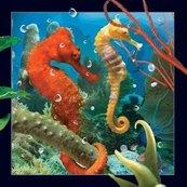 Pocztówka 3D Konik morski