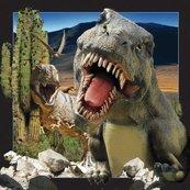 Pocztówka 3D Dinozaur