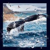 Magnes 3D Ogon wieloryba