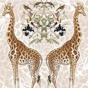 Karnet kwadrat z kopertą Giraffe