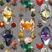 Karnet kwadrat z kopertą Beetles and Jewels