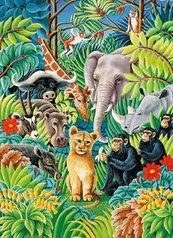 Karnet B6 z kopertą Jungle Party