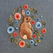 Karnet kwadrat z kopertą Little Rabbit