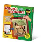 Wypukła malowanka Konie - American single horse