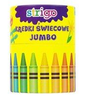 Kredki świecowe Jumbo 36 kolorów STRIGO