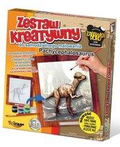 Zestaw Kreatywny do malowania - Dino.Pachycephalos