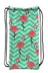 Worek szkolny plecak WR133 Flamingi zygzak MESIO