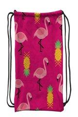 Worek szkolny plecak WR132 Flamingi różowe MESIO