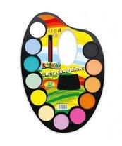 Farby akwarelowe 12 kolorów paleta PENMATE
