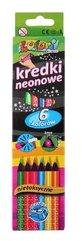 Kredki Premium Kolori neonowe 6 kolorów PENMATE