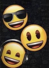 Teczka z gumką A4 Emoji DERFORM