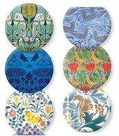 Lusterko ozdobne Voysey Arts&Crafts