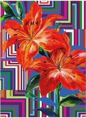 Karnet B6 z kopertą Floral Maze