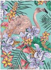 Karnet B6 z kopertą Flamingo