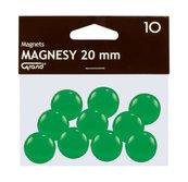 Magnes 20mm zielony 10szt GRAND