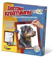 Zestaw Kreatywny do malowania - Rottweiler