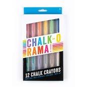 Kreda w kredce Chalk-O-Rama 12 sztuk