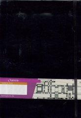 Notes A4 Linia Formalizm Czarny ANTRA