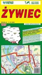 Żywiec 1:15 500 plan miasta PIĘTKA