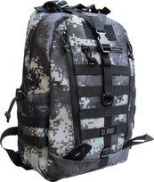 Plecak 1-komorowy Military Black Digital Camo