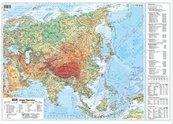 Azja 1:22 000 000 mapa pol. i fiz. ścienna
