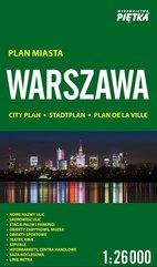 Warszawa 1:26 000 plan miasta PIĘTKA
