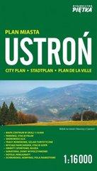 Ustroń 1:16 000 plan miasta PIĘTKA
