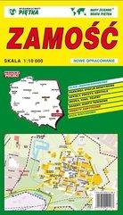 Zamość 1:10 000 plan miasta PIĘTKA