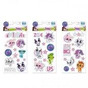 Naklejki Sticker BOO brokat Littlest Pet Shop