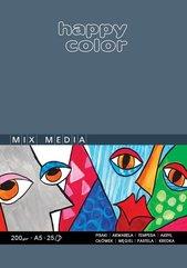 Blok Mix Media ART A5/25K 200g HAPPY COLOR
