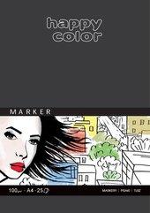 Blok do markerów ART A4/25K 100g Happy Color