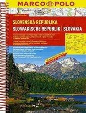 Atlas Słowacja 1:200 000 MARCO POLO