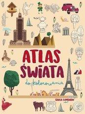Atlas świata do kolorowania