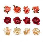 Kwiaty samoprzylepne 12 szt
