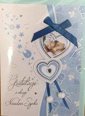 Karnet narodziny B6 Premium 49 + koperta