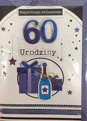 Karnet Urodziny B6 Premium 61 + koperta