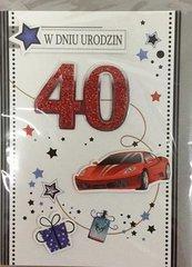 Karnet urodziny B6 Premium 60 + koperta