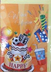 Karnet urodziny B6 Premium 10 + koperta