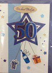 Karnet urodziny B6 Premium 62 + koperta