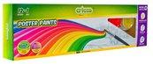 Farby plakatowe+brokat+pojemnik 12 kolorów CRICCO