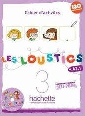 Les Loustics 3 ćwiczenia + CD HACHETTE